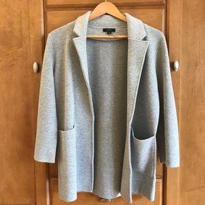 J. Crew Long Gray Sweater